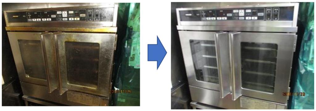 厨房清掃(什器・備品清掃)コンベクション